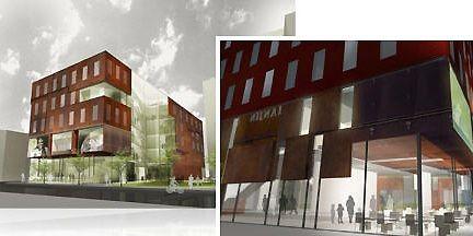 La maquette de la nouvelle Maison... (Photo: www.maisondeveloppementdurable.org)