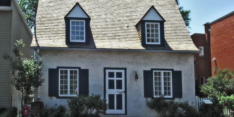 La maison Pilon, dans le Vieux-Pointe-Claire, constitue un... (Photo fournie par la Ville de Montréal)