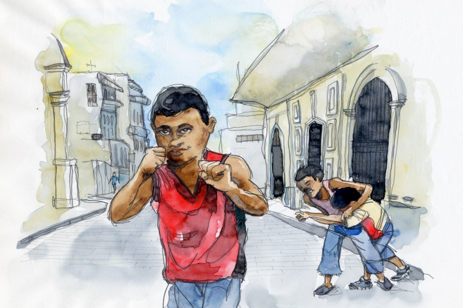 Il était difficile de dessiner en pleine rue à Habana Centro. Les enfants rendaient parfois la tâche impossible avec leurs demandes incessantes. | 1 mars 2011