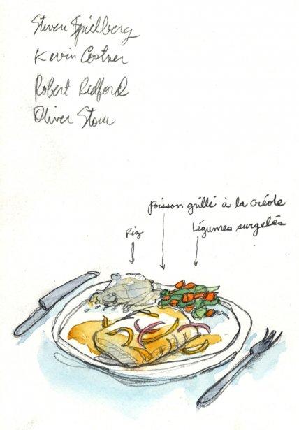 Amateurs de gastronomie et disciples de Di Stasio s'abstenir. La nourriture est au mieux bonne. Porc, poulet, riz et haricots sont de tous les menus, accompagnés d'horribles légumes surgelés. Les denrées sont rares à Cuba et les talents culinaires tout aussi difficiles à trouver. | 1 mars 2011