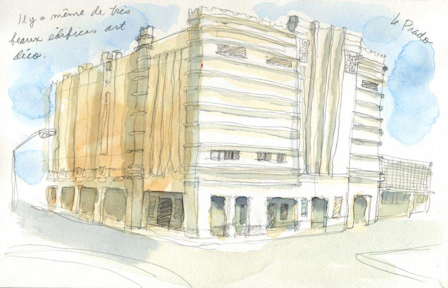 Sur la Place Prado, on retrouve ce magnifique immeuble de style art déco. | 1 mars 2011