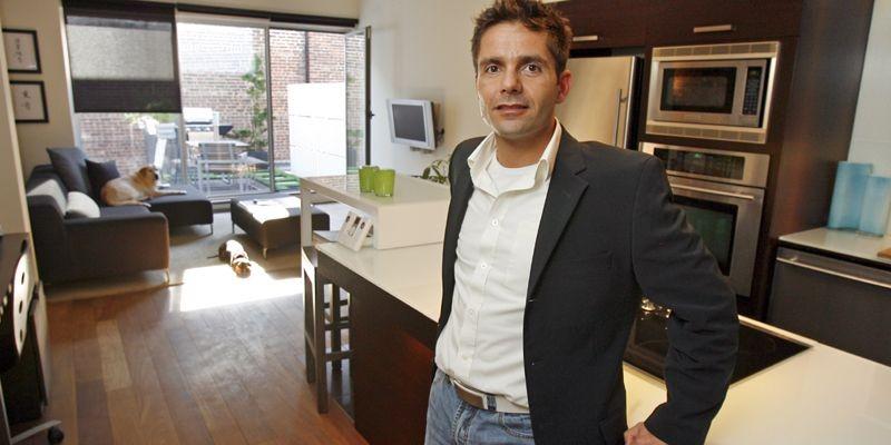 Eric de Man, designer d'intérieur et concepteur de... (Photo Robert Mailloux, La Presse)