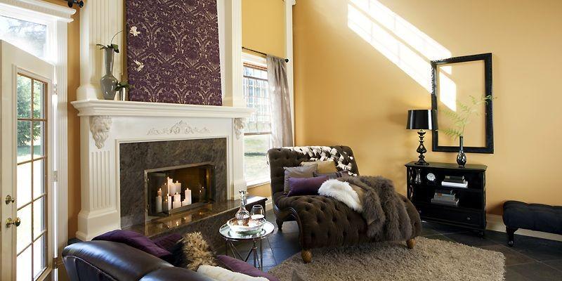 Créez la pure opulence en combinant confort, texture... (Photo fournie par Benjamin Moore)