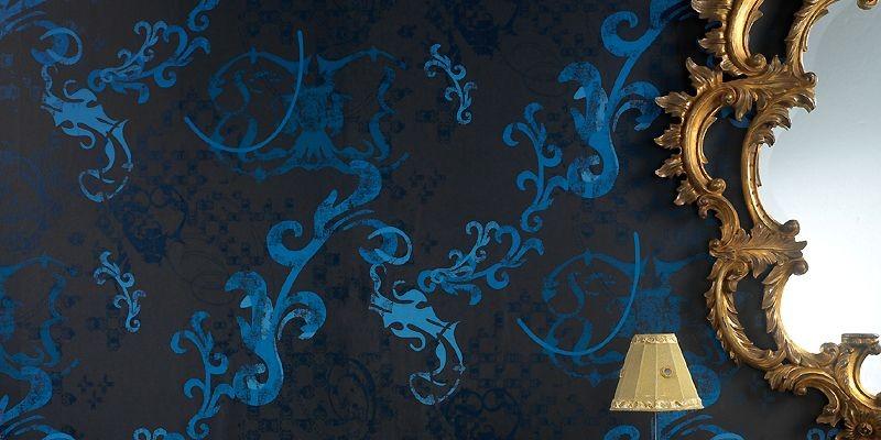 Le bleu nuit est à l'honneur avec le... (Photo Graham & Brown)