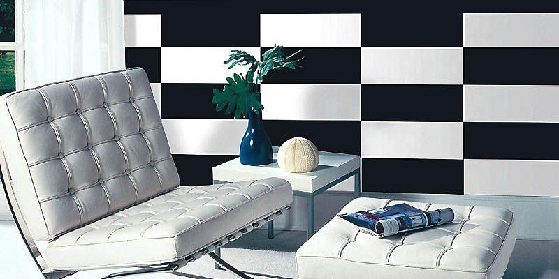 Ce n'est pas du papier peint. Ce sont des... (Photo: www.wall-pops.com)