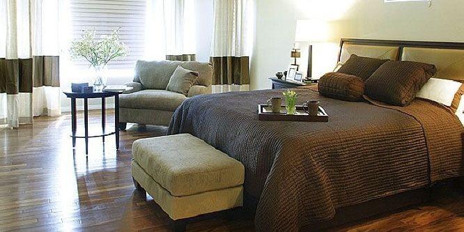 Le lit ne fait pas face à la... (Photo fournie par Home and Garden TV)