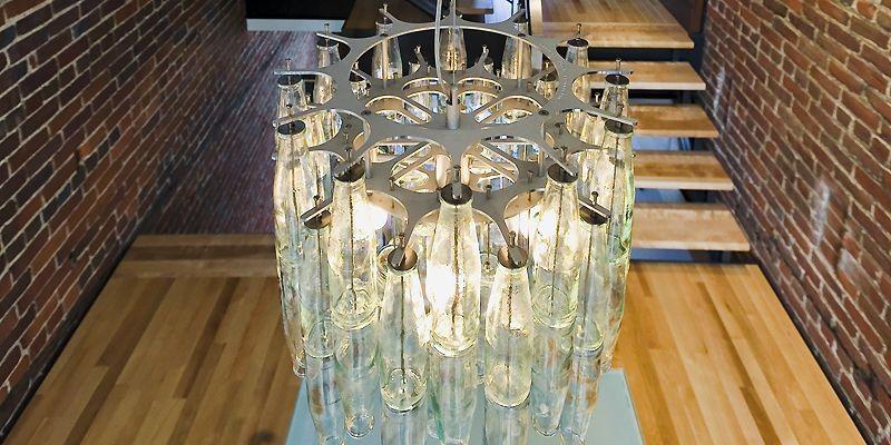 Le lustre Verona brille dans la maison de... (Photo Paul Dionne)