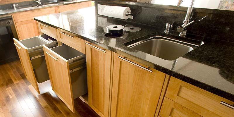Les cuisines devraient toutes intégrer des sections pour... (Photo archives La Presse)