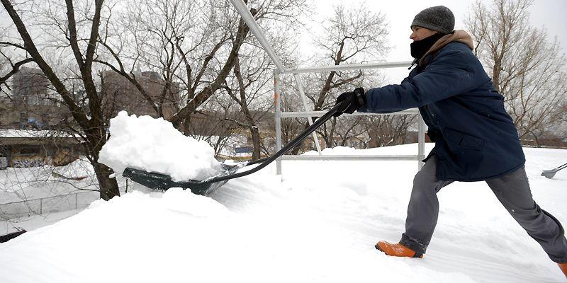 De manière générale, les toits du Québec sont... (Photo Bernard Brault, La Presse)