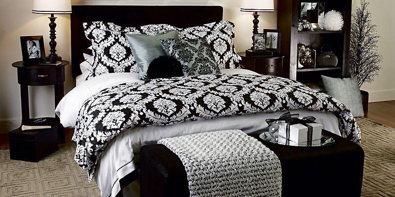 Literie le beige et le noir donnent le ton mich le laferri re design for Chambre a coucher 2016 maroc