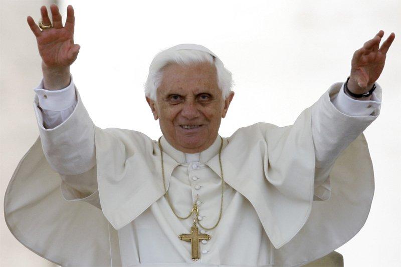 Le pape Benoît XVI... (AP)
