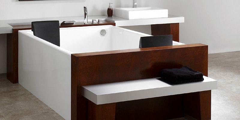 Le modèle de baignoire extra-grand Agata, conçu par... (Photo fournie par Neptune)