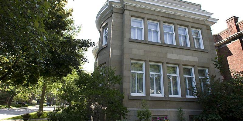 La façade de cette propriété de la rue... (Photo Robert Skinner, La Presse)