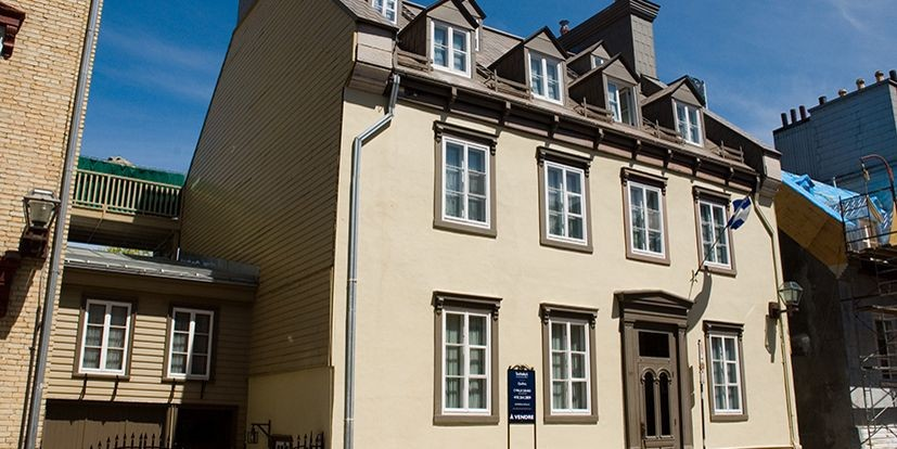 C'est la façade de la maison de la... (Photo: Sotheby's)