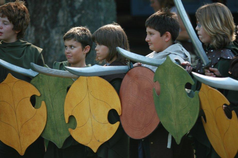 Avant de prendre les armes pour défendre le Sanctuaire, les aspirants aventuriers ont écouté avec attention les directives du maître d'armes. | 1 mars 2011