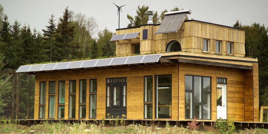 La maison Habitat 07 à Baie-Saint-Paul fait partie... (Photothèque Le Soleil)