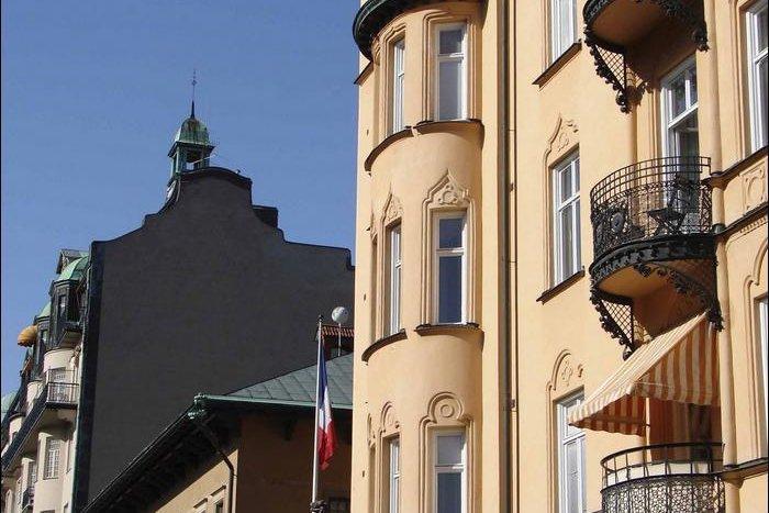 Des édifices bourgeois du quartier Ostermalm.... (Photo Maxime Bergeron)