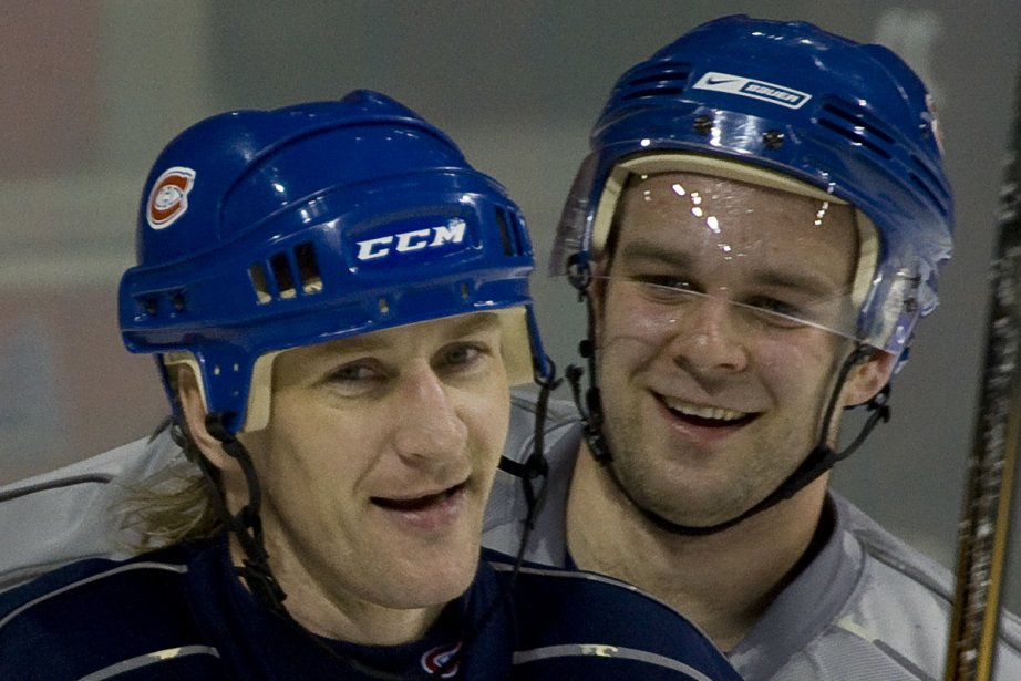 Alex Kovalev et Guillaume Latendresse... (Photo: André Pichette, La Presse)