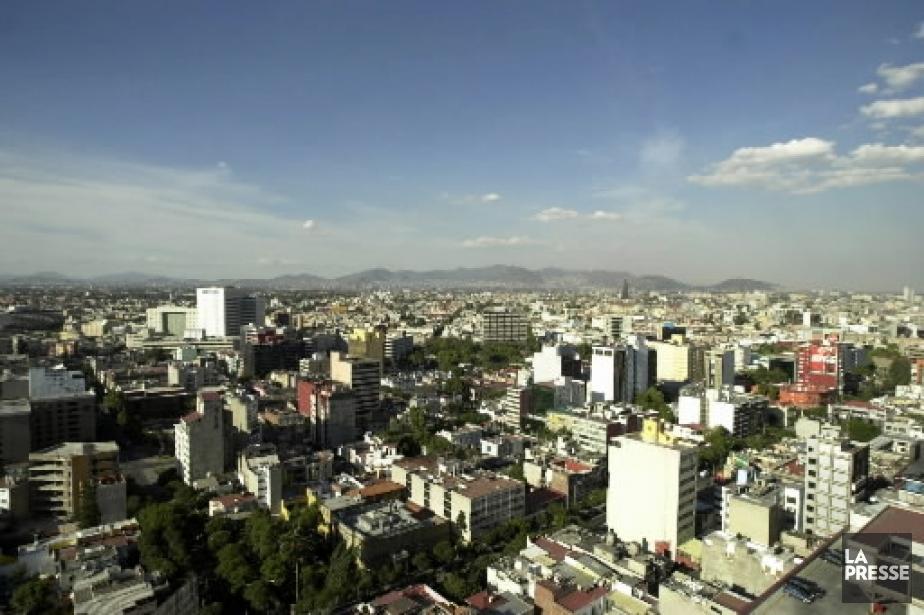 La ville de Mexico... (Photo: archives AP)