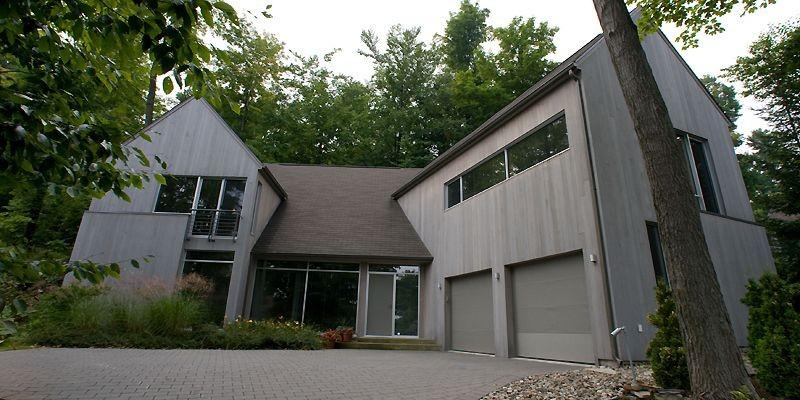 L'architecture de cette résidence mélange à la fois... (Photo André Tremblay, La Presse)