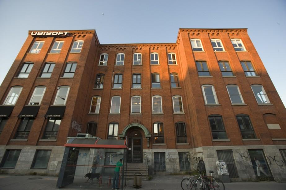 Les bureaux d'Ubisoft à Montréal... (David Boily, La Presse)
