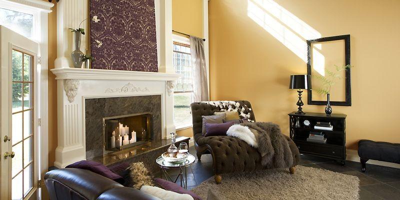 Pour choisir la couleur des murs, le designer... (Photo fournie par Benjamin Moore)