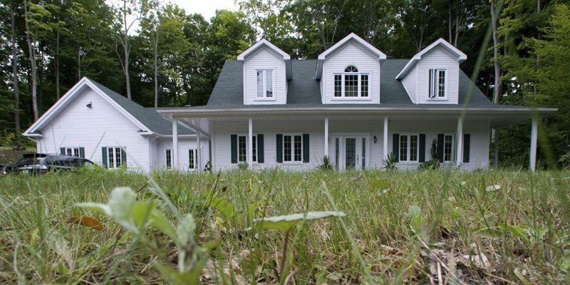 Une maison neuve sans sous-sol, comme ici à... (Photo André Tremblay, La Presse)