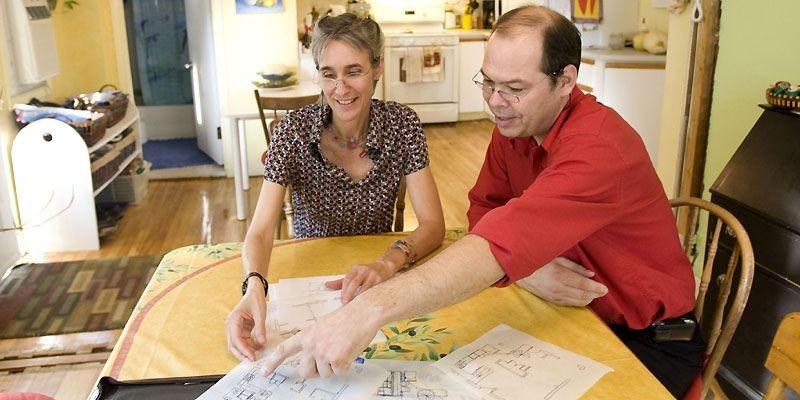 Ginette Aubin et Louis Lavallée désirent agrandir leur... (Photo Patrick Sanfaçon, La Presse)