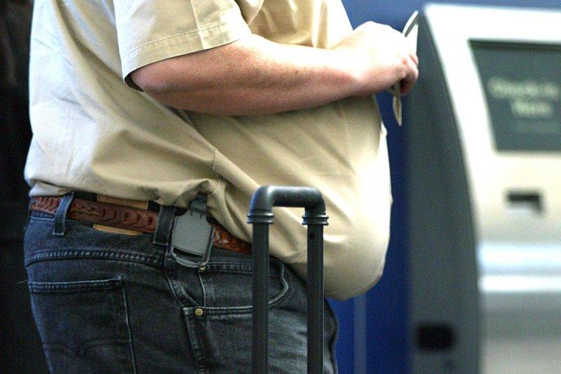 Selon une étude publiée le mois dernier, l'obésité... (Photo: archives AFP)