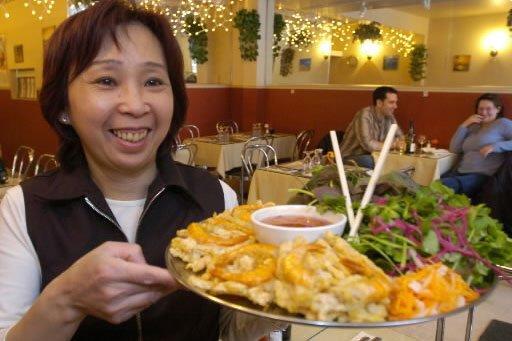 Madame Kim Phong Vu du restaurant Nhu An.... (Photo: Rémi Lemée, La Presse)