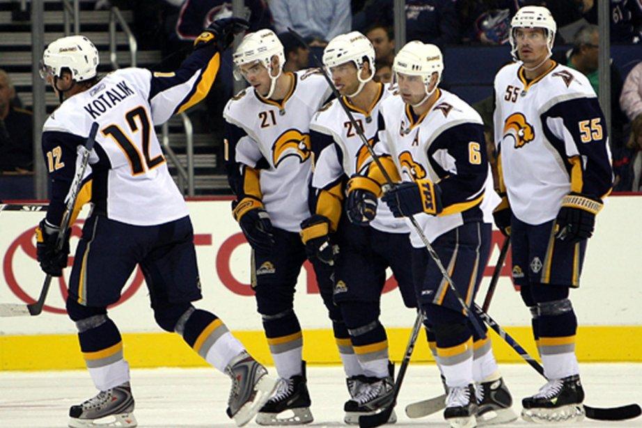 C'est une équipe de Buffalo jeune, toujours petite,... (Photo: AP)