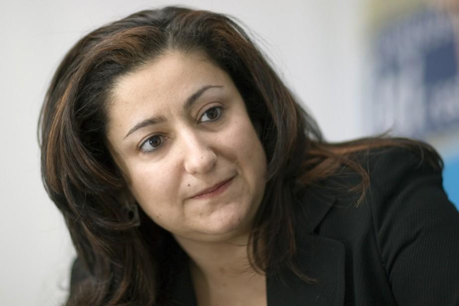 Maria Mourani.... (Photo: André Pichette, Archives La Presse)