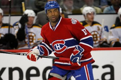 Georges Laraque... (Photo: Martin Chamberland, La Presse)