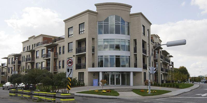 Les 52 logements sont répartis sur quatre étages.... (Photo Rémi Lemée, La Presse)