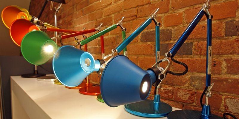 Un des modèles de luminaires exposés dans la... (Photo Robert Mailloux, La Presse)