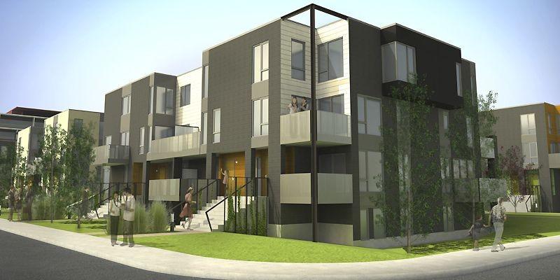 La première phase du projet Accès Faubourg Contrecoeur... (Illustration fournie par la SHDM)
