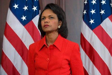 L'ex-secrétaire d'Etat américaine, Condoleezza Rice... (Photo: AFP)