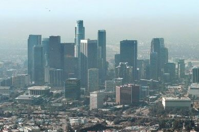 Centre-ville de Los Angeles.... (Photo: AP)