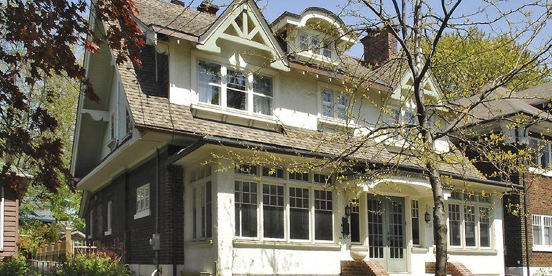 Construite en 1927, la résidence du 123, Wolseley... (Photo fournie par la Ville de Montréal)