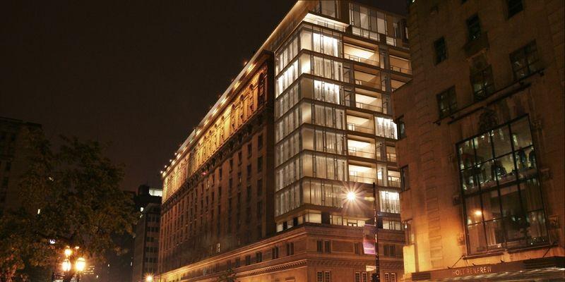 L'hôtel Ritz-Carlton de Montréal a été inauguré le... (Photo fournie par le Ritz-Carlton)