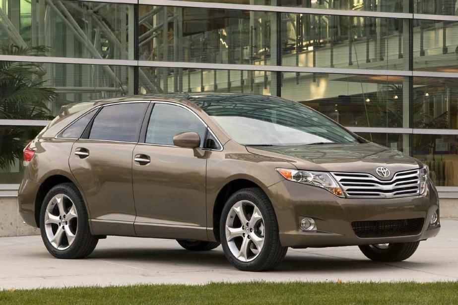 Toyota Venza... (Photo fournie par Toyota)
