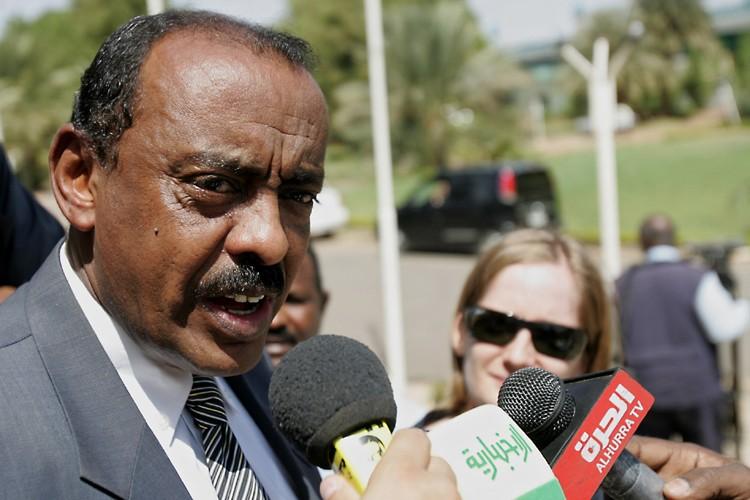 Le porte-parole du ministère soudanais des Affaires étrangères,... (Photo: AFP)