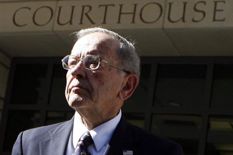 Ted Stevens... (Photo: Reuters)