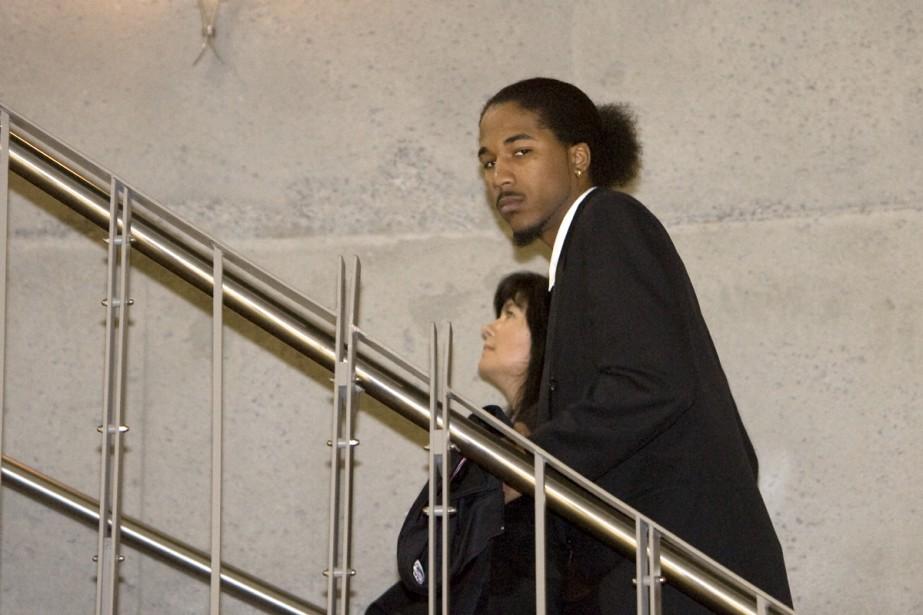 Clevland Alexander Scott, le seul des cinq accusés... (Photo: Alain Roberge, La Presse)