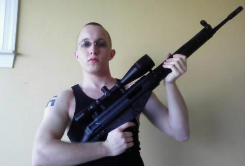 Daniel Cowart, 20 ans, l'un des deux suspects... (Photo: Reuters)