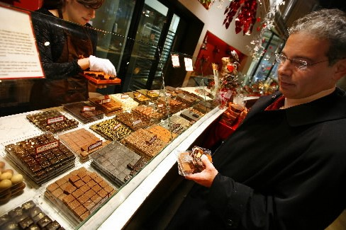 Le chocolat, qui tient salon cette semaine à Paris, rassure les... (Photo: AFP)