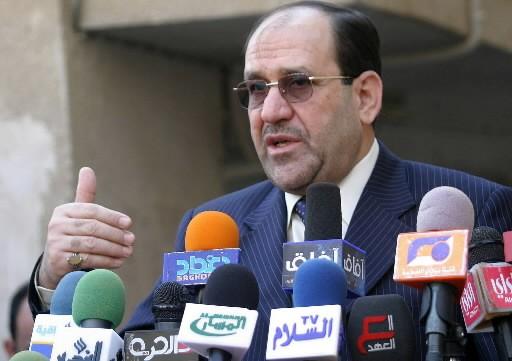Nouri al-Maliki, premier ministre de l'Irak... (Photo: AFP)