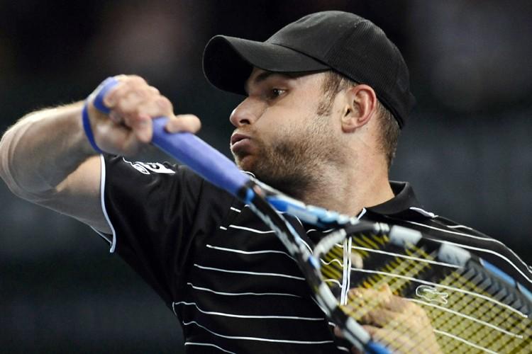 Andy Roddick s'est qualifié pour les huitièmes de... (Photo: AFP)