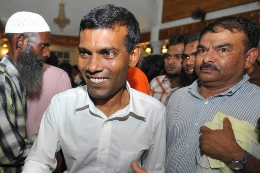 Mohamed 'Anni'  Nasheed... (Photo: AFP)