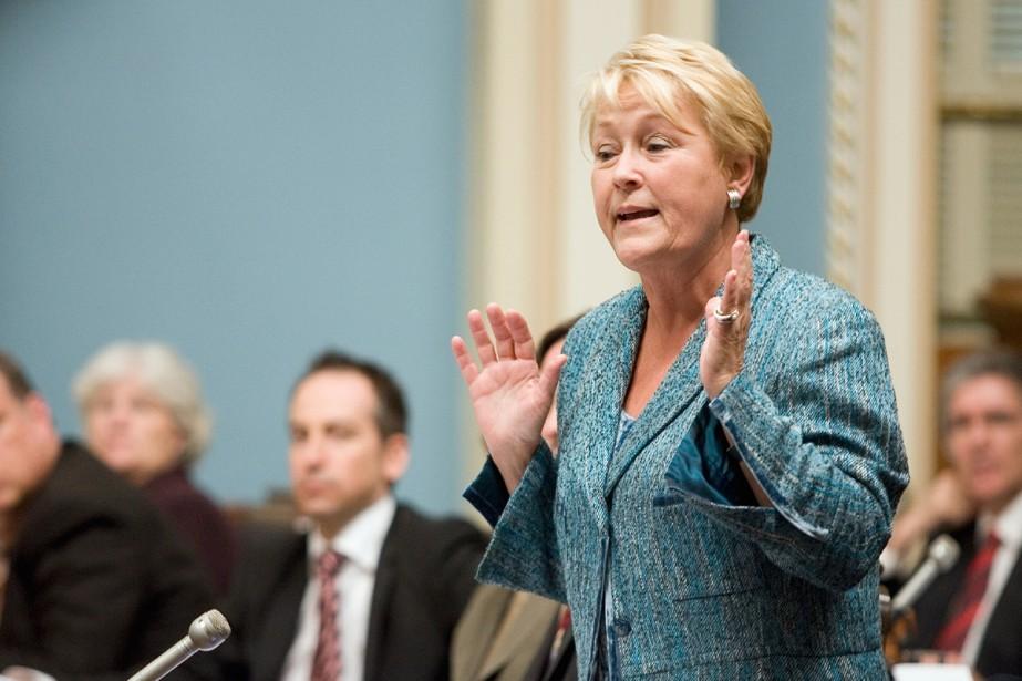 Appréhendant une récession en 2001, Pauline Marois avait... (Photo La Presse Canadienne)